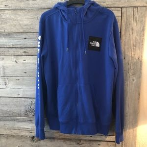 The North Face Red Box Zip Hoodie Large